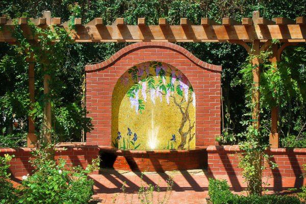 Mosaic Tile Fountain- La Jolla, CA